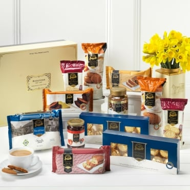 Ringtons Limited Edition Marie Curie Blooming Great Big Tea Party Hamper