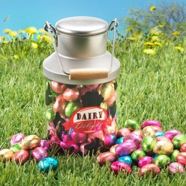 Ringtons Novelty Milk Churn with Chocolate Eggs