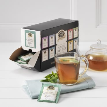 Ringtons Organic Peppermint Tag & Envelope Tea Bags x 100