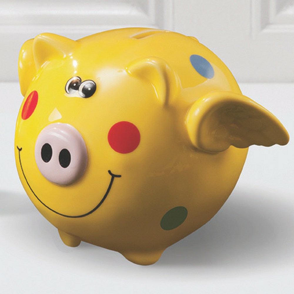 Pigasus money box chocolate egg ringtons pigasus money box amp chocolate egg negle Gallery