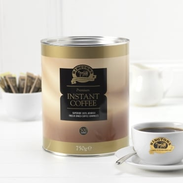 Ringtons Premium Freeze Dried Instant Coffee Tin 750g