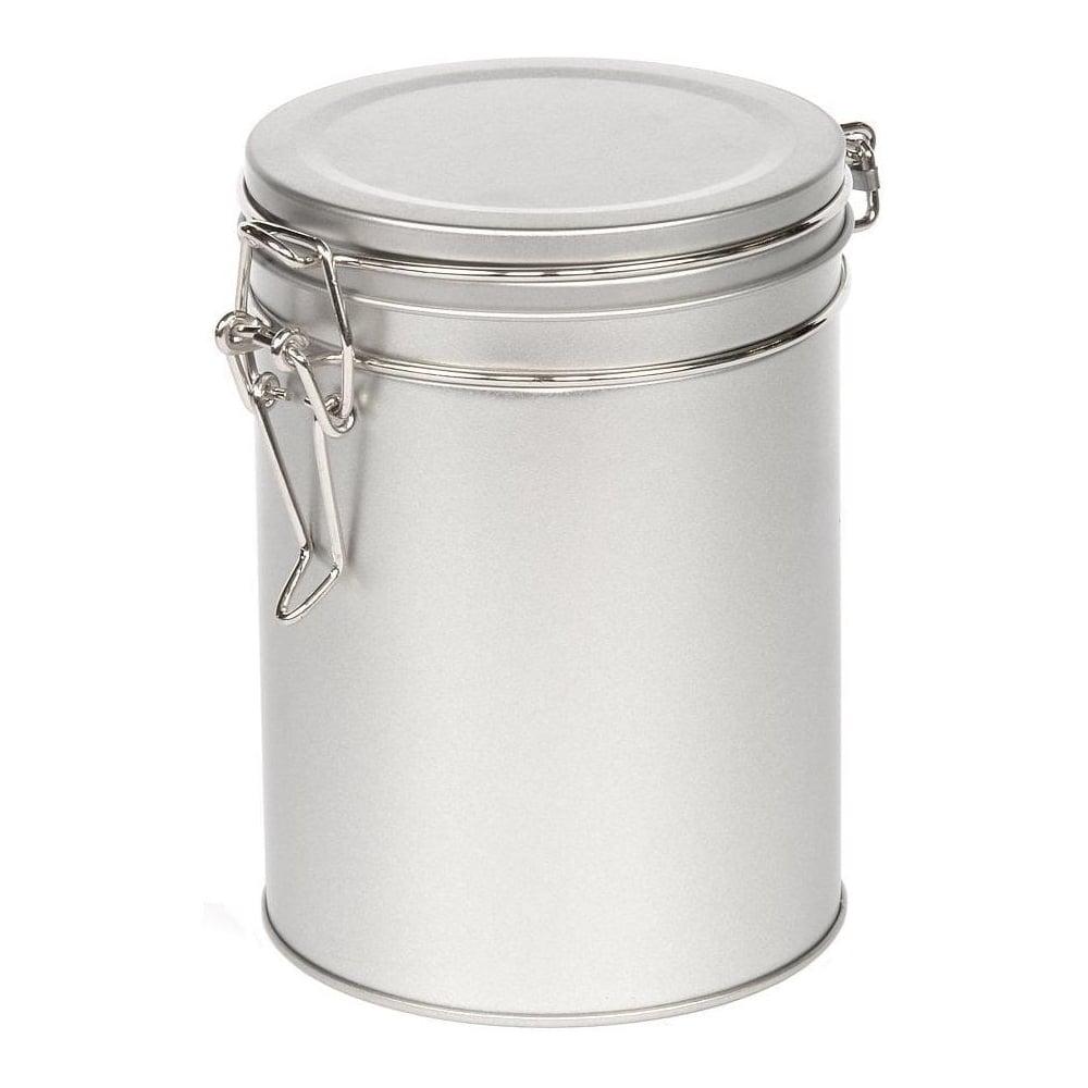 Ringtons Small Silver Storage Tin