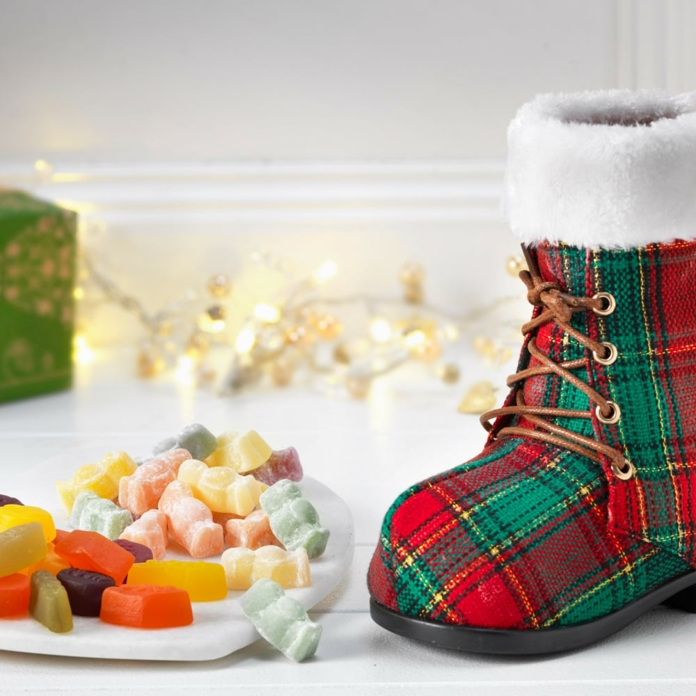 Gifts ringtons ringtons tartan boot with jelly selection negle Image collections