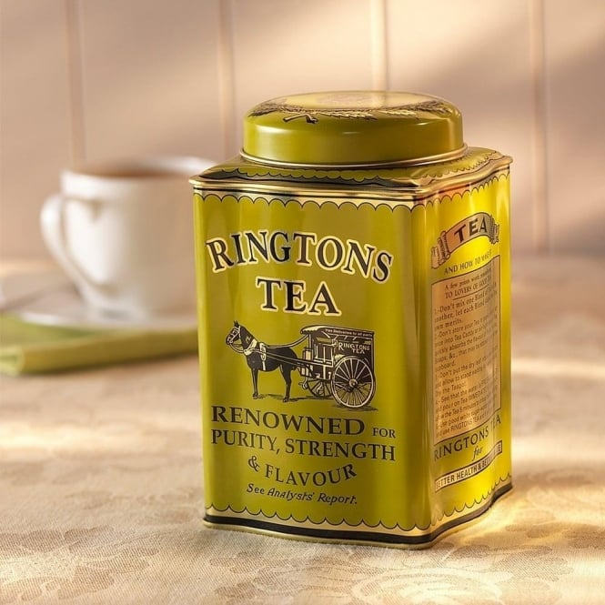 Ringtons Traditional Caddy & 50 Gold Tea Bags