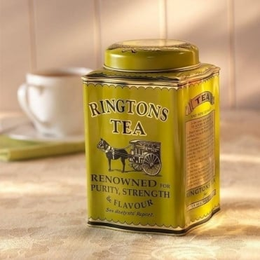Ringtons Traditional Caddy & 50 Kenyan Gold Tea Bags