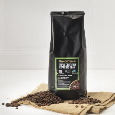 Ringtons Triple Certified Espresso Bean 1kg