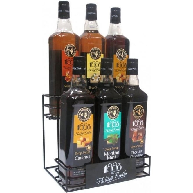 Routin 1883 Syrup Display Stand