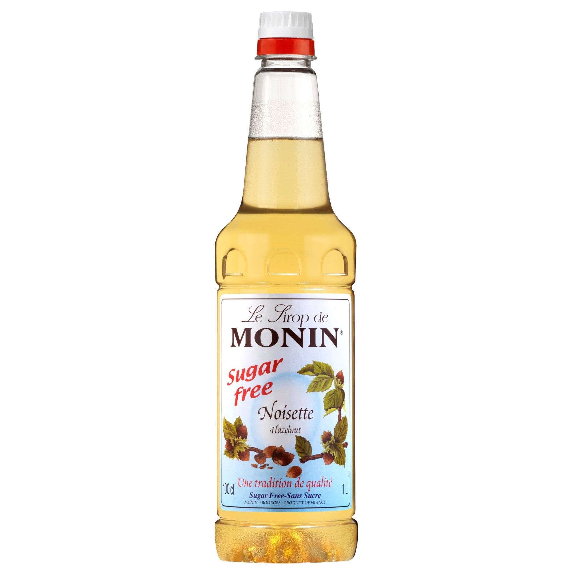 Monin Sugar Free Hazelnut Syrup 1l